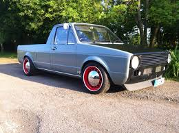100 Rabbit Truck My Mk1 Caddy Now With Red Rims The Mk1 Caddy Volkswagen