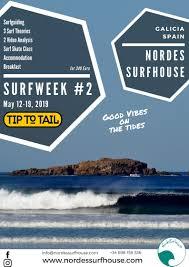 100 Nordes Tip To Tail Surfweek 2 At Surfhouse Surfschool