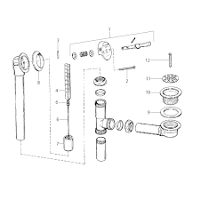 Tub Drain Assembly Diagram by Drain Schematics Tub Drain Schematics Vesselyn Com