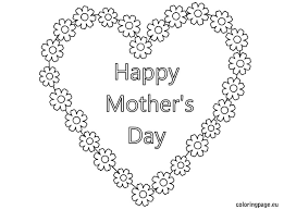 Coloring Page Mothers Day Holidays And Special Occasions 217