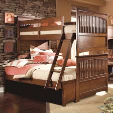Lea Industries Elite Crossover Twin Over Full Shaker Style Bunk