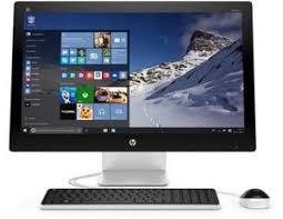 ordinateur de bureau hp tout en un hp pavilion 27 n203nf tout en un w1c85ea abf achat ordinateur