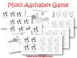 Printable Farm Alphabet Game For Preschool And Kindergarten