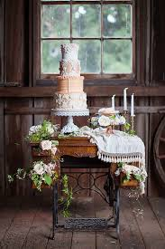 8 Rustic Wedding Cake And Dessert Table 14