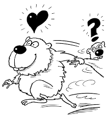 Click To See Printable Version Of Couple Hamsters Are Running Away Coloring Page