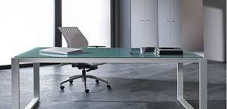 bureau verre design bureau en verre design