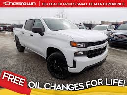 100 Custom Pickup Trucks For Sale New 2019 Chevrolet Silverado 1500 4D Crew Cab In Delaware