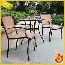 Patio Bistro Table And Chairs Set Outdoor Furniture 3-Piece Porch Deck  Backyard Adams Manufacturing Quikfold White Resin Plastic Outdoor Lawn Chair Semco Plastics Patio Rocking Semw 5 Pc Wicker Set 4 Side Chairs And Square Ding Table Gray For Covers Sets Tempered Round 4piece Honey Brown Steel Fniture Loveseat 2 Sku Northlight Cw3915 Extraordinary Clearance Black Bar Rattan Small Bistro Pa Astonishing And Metal Suncast Elements Lounge With Storage In