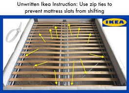 Ikea Mandal Headboard Instructions by Try This Simple Hack To Make Your Ikea Bed Sturdier And Easier To