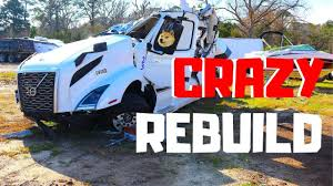 100 Wrecked Truck CRAZY WRECKED SALVAGE 2019 Volvo VNL Semi Bought At Copart