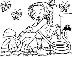 Coloring Pages Preschool Spring Coloring Pages First Day Of