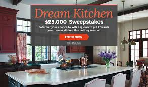 Better Homes and Gardens Dream Kitchen $25 000 Sweepstakes USA