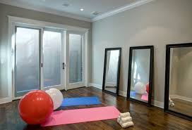 Simple Light Hues Can Emphasize A The Feeling Of Space In Your Home Gym
