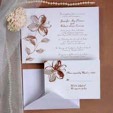 Cheap Printable Floral Wedding Invitations With Free Response Cards