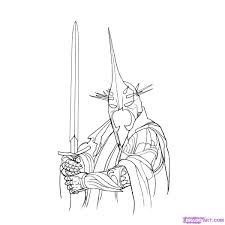 Lord Of The Rings Coloring Pages