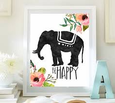 Elephant Wall Art Ideal