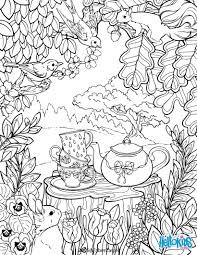 Mandala Secret Garden Coloring Pages And