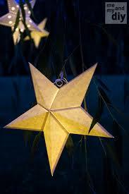 DIY Paper Star Lanterns
