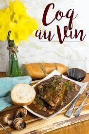 vin cuisine one pan coq au vin the starving chef
