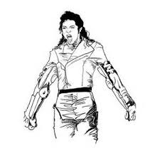 Michael Jackson Coloring Sheets