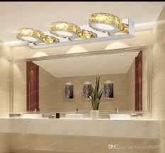 großhandel moderne k9 kristall led badezimmer make up spiegel licht wandlen le 85 265v edelstahlschrank eitelkeit beleuchtung llfa volvo