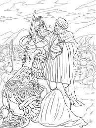David Spares King Saul Coloring Page From Category Select 27065 Printable Crafts Of Cartoons Nature Animals Bible And Many More