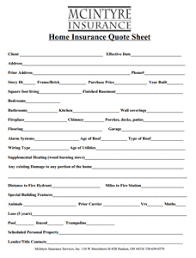 Get A Quote McIntyre Insurance Services of Hudson Ohio