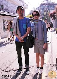 Sinsa Street Fashion HUES OF BLUE