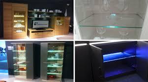 glass shelf with led light led showcase light suppliers led inside