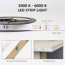 ip20 led leiste le led 5m set dimmbar 300 leds smd