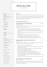 Kitchen Hand Resume & Writing Guide | +12 Free Templates | 2020 How To Write A Perfect Food Service Resume Examples Included By Real People Pastry Assistant Line Cook Resume Sample Chef Hostess Job Description Host Skills Bank Teller Njmakeorg Professional Dj Templates Showcase Your Talent 74 Outstanding Media Eertainment 12 Sample From Stay At Home Mom Letter Diwasher Cover Letter Colonarsd7org Diwasher For Inspirational Best Barista 20 Of Descriptions Samples 1 Resource