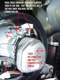 diy hid bulb change w o bumper removal 3g garage g 004