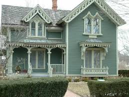 House Plans Farmhouse Colors Historic Downtown Northville Michigan Victorian House And
