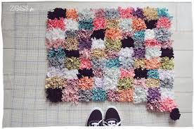 tapis a faire soi meme diy comment faire un tapis soi même le meilleur du diy