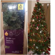 6ft Artificial Christmas Tree Bq by Christmas Trees 7ft Photo Album Halloween Ideas