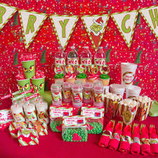 How The Grinch Stole Christmas Birthday Party Ideas Home Party Ideas