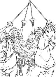 Barbie Three Musketeers All For One And Coloring Pages