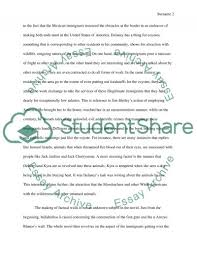 tortilla curtain essay