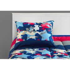 Walmart Camo Bedding by Mainstays Kids American Star Camo Bed In A Bag Bedding Set
