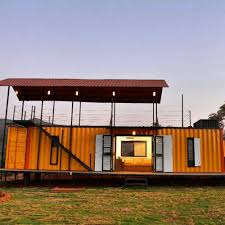 100 Shipping Containers Converted Customized Wood Structure Construction Container House Design