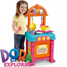 buy fisher price dora cook with me kitchen at home bargains