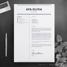 Ava Oliva Bank Finance Resume Template Catch Templates Ava