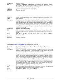 8 Designation Business Analyst