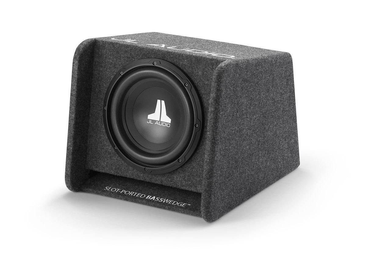 JL Audio Cp110-w0v3 BassWedge Ported Enclosure - Black, 10""