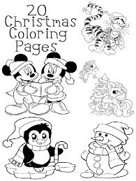 20 Christmas Coloring Pages For Easy Kids Craft And Party Ideas