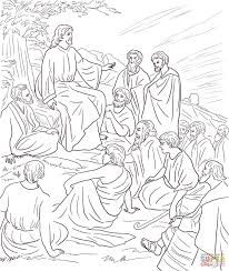 C24bb4da97cd02068d88ac32ba1a4107 Jesus Teachings Free Coloring