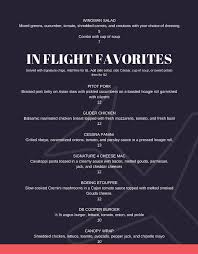 menu the flight deck bar grill at csc rochelle il