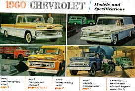 100 1960s Chevy Truck Directory Index GM S And Vans1960_s_and_Vans