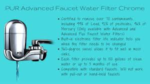 Pur Advanced Faucet Water Filter Adapter by Pur Water Filter Review Great Tasting Water With 1 Click