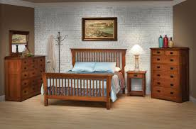 Twin Mission Style Frame Bed With Headboard Footboard Slat